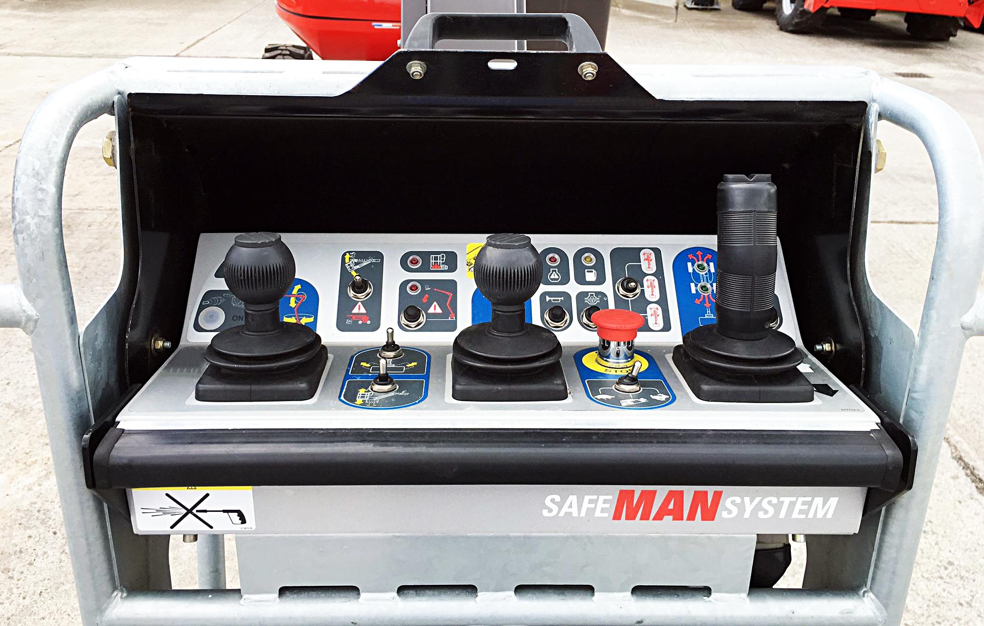 Safe Man System, el sistema de seguridad integrada de Manitou.