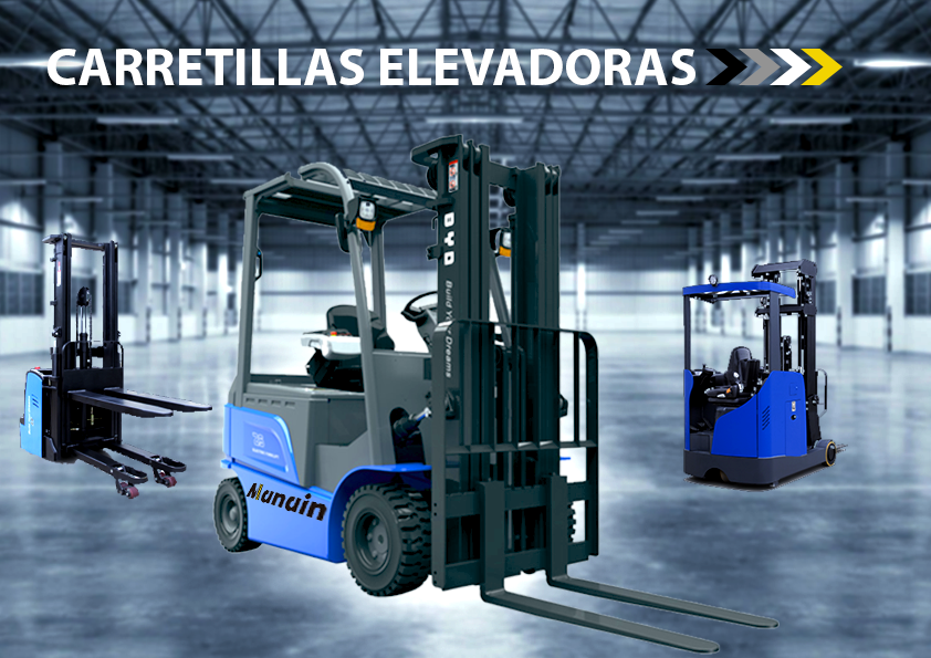 DESCUBRE LAS CARRETILLAS ELEVADORAS Y RETRÁCTILES – MANAIN