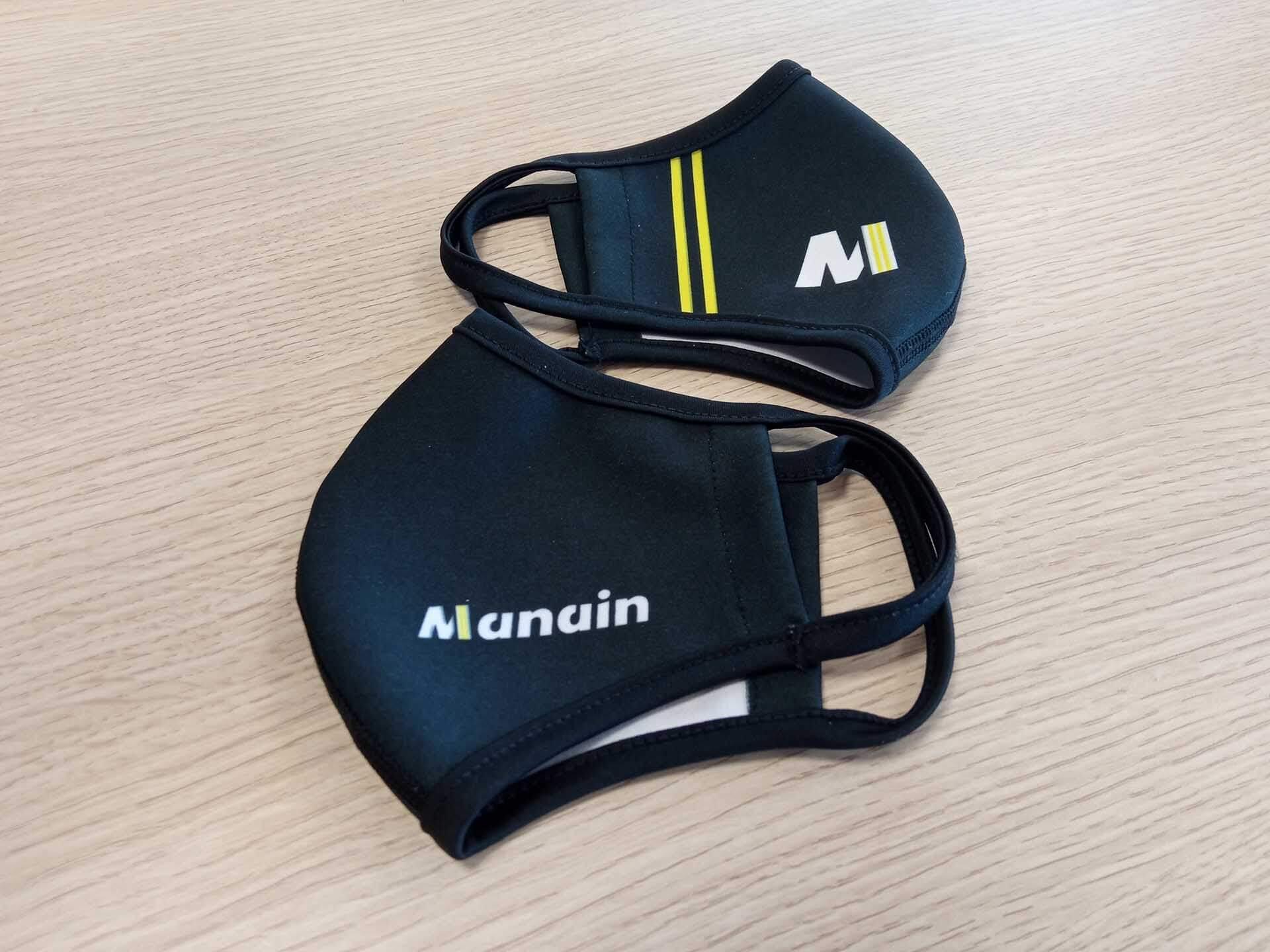 Manain protege a sus empleados con mascarillas personalizadas y reutilizables