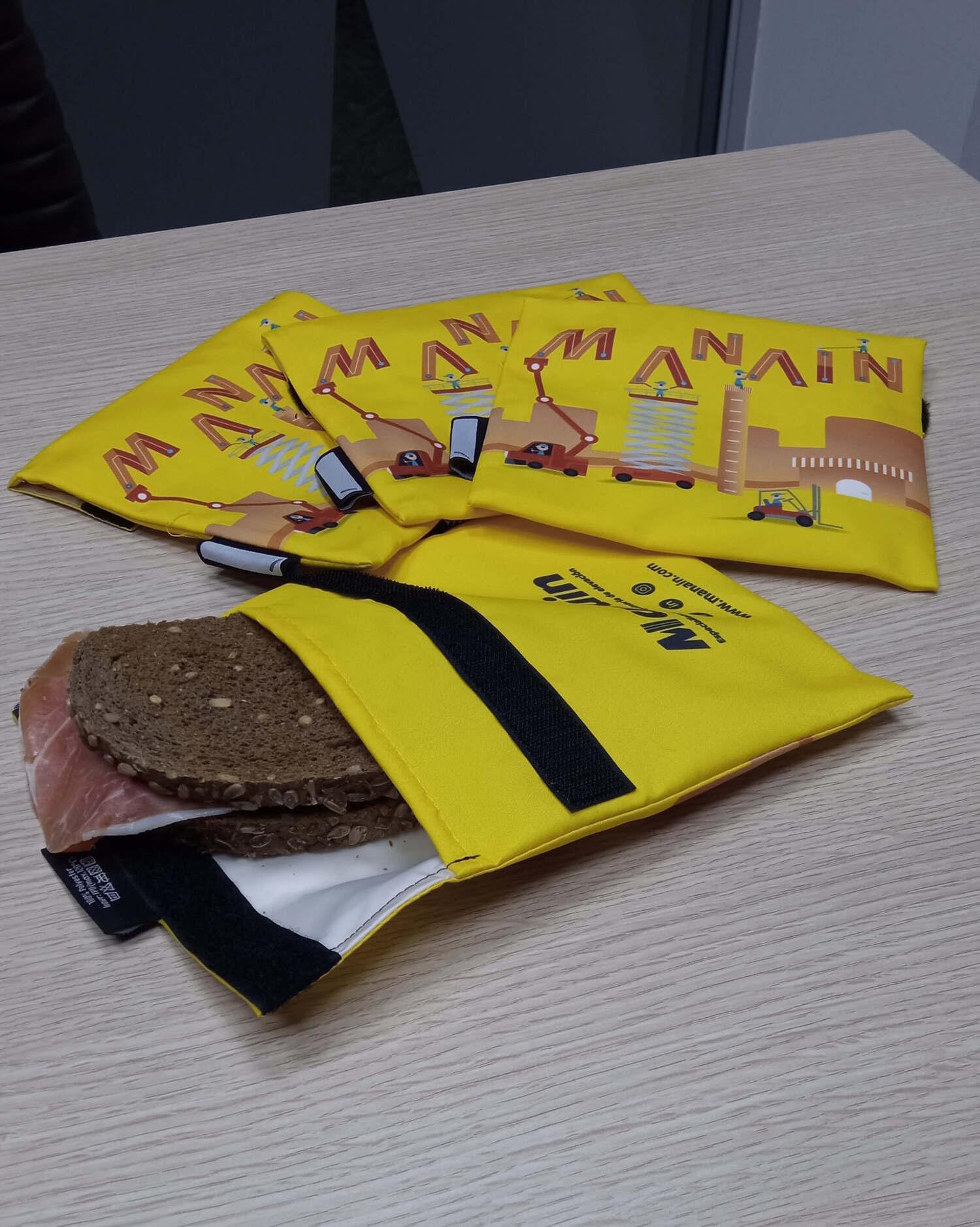 Manain reparte envoltorios eco friendly para reducir los residuos entre sus trabajadores